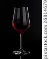 red, glass, wine 26814679