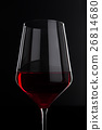 red, glass, wine 26814680