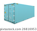 Cargo container vector 26816953