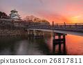 Osaka Castle in Osaka, Japan 26817811