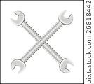 cross steel wrench logo 26818442