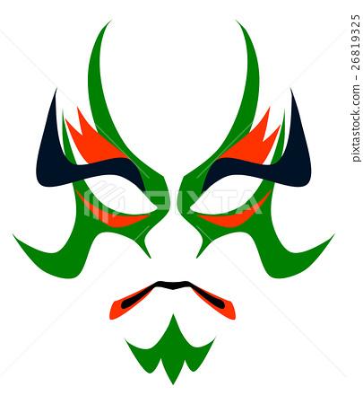 Makeup of Kabuki 26819325