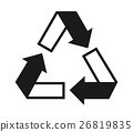 Recycle icon 26819835