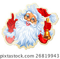 Christmas Stickers With Santa 26819943