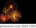 New Year celebration fireworks 26821389