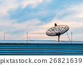 Satellite dish transmission data 26821639