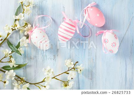 Easter eggs frame. 26825733