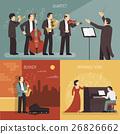 Musicians Design Concept Set 26826662
