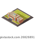 Government Education Institution Building Concept  26826891