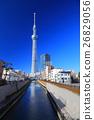 맑은 날의 도쿄 스카이 트리 이스트 타워 26829056