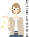 女人介紹微笑 26831990