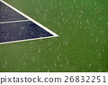 heavy rain on tennis court 26832251