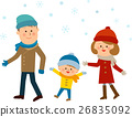 snowy, person, family 26835092