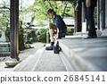 heterosexual couple, journey, touristic 26845141