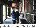 heterosexual couple, journey, touristic 26845164