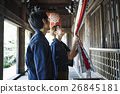 heterosexual couple, journey, touristic 26845181