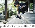 heterosexual couple, journey, touristic 26845230