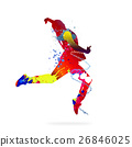 Abstract dancer 26846025