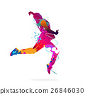 Abstract dancer 26846030