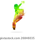 Abstract dancer 26846035