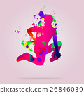 Abstract dancer 26846039