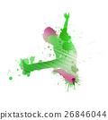 Dancer silhouette 26846044