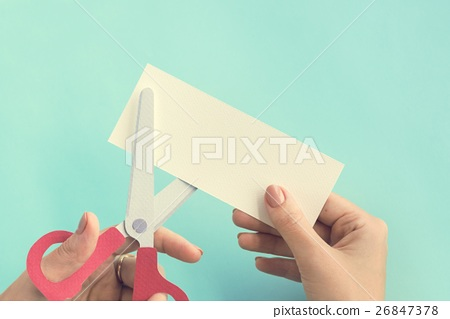 Scissors Paper Ideas Inspiration Style Art Concept 26847378