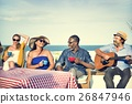 beach, group, men 26847946