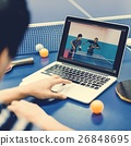 Table Tennis Ping-Pong Sport Activity Concept 26848695