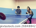 Table Tennis Ping-Pong Friends Sport Concept 26848842