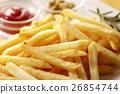 炸土豆 油炸的 油炸食品 26854744