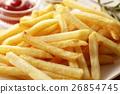 炸土豆 油炸的 油炸食品 26854745