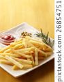 炸土豆 油炸的 油炸食品 26854751