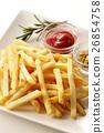 炸土豆 油炸的 油炸食品 26854758