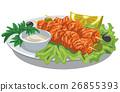 salmon kebab 26855393