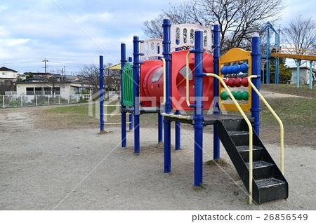 Park playground equipment 26856549