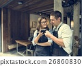 coffee, couple, restaurant 26860830
