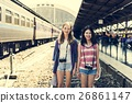 Young Girls Travel Holiday Concept 26861147