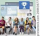 Register Enter Membership Sign-in Socialize Concept 26863677
