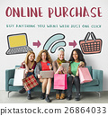 Online Shopping Web Shop E-shopping Concept 26864033