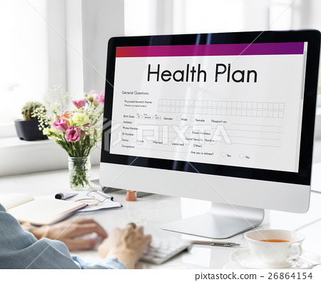 Health Plan Treatment Medical Document Form Concept 26864154