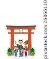 鳥居と家族【三頭身・シリーズ】 26866110