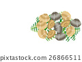 矢量 食物 食品 26866511