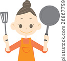 frying pan, frying-pan, frypan 26867759