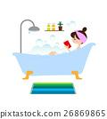 一個女人洗個澡 26869865