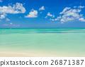 海滩 阿鲁巴 岛 26871387