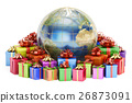 Gift delivery and global shopping concept 26873091