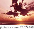 เมฆ,ท้องฟ้า,มหาสมุทร 26874269