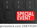 Special Event on black keyboard 26874594