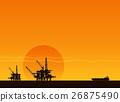 oil pumps on sunset 26875490
